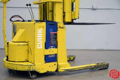 Clark Model SP30 Walk Behind Electric Fork Lift Straddle Stacker - 031219104432