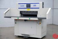 Duplo DocuCutter 800 Programmable Hydraulic Paper Cutter - 031319105452