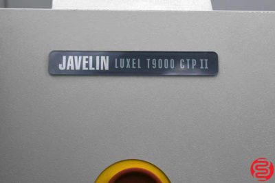 2004 Fujifilm Javelin Luxel T9000 CTP II Computer to Plate System - 032119041006