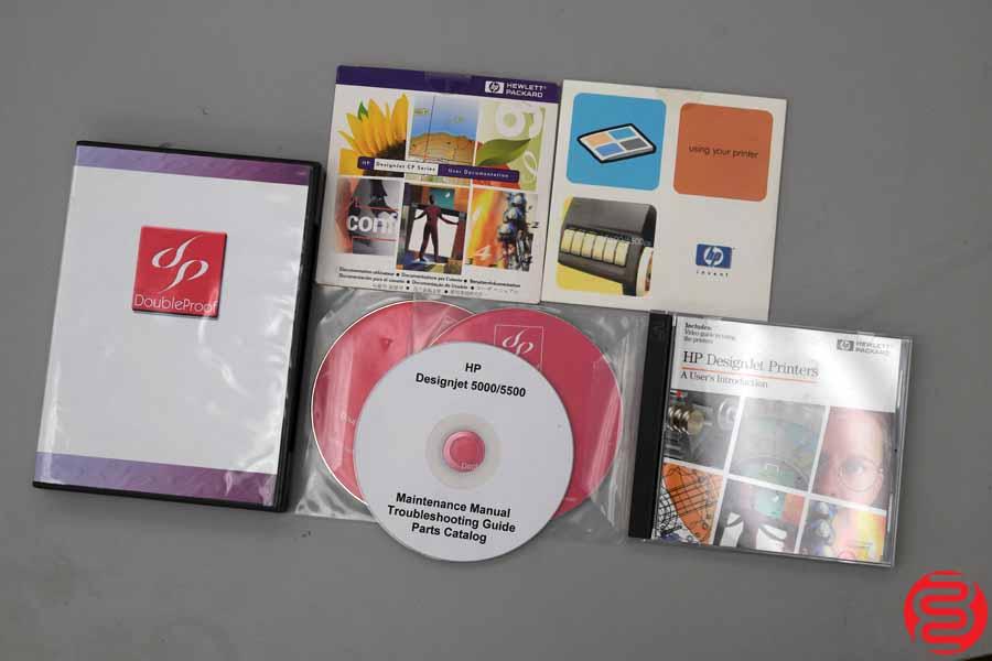 HP DesignJet 5500 Wide Format Printer – 031519025754