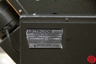 LECTROJOG 775 Table Top Paper Jogger - 030119114407