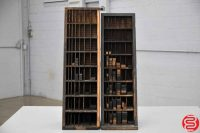 Letterpress Furniture Cabinets w/ Assorted Wood Furniture - 031419042522