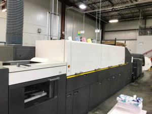 Kodak NexPress SE2500 Digital Production Color Wide Format Printing Press - 032719123442