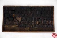 "Assorted Letterpress Wood Type Font - 2"" - 042219124109"