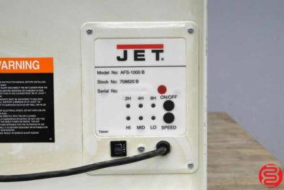 JET AFS-1000 B 3 Speed Air Filtration System - Qty 2 - 041919030904