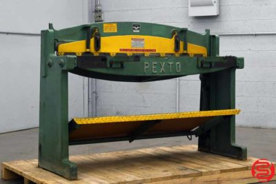 Pexto Roper Whitney 52 Inch 16 Gauge Foot Shear - 040219085024