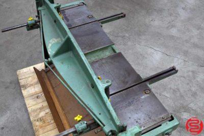 Pexto Roper Whitney 52 Inch 16 Gauge Foot Shear - 040219085024