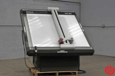 Wild Heerbrugg TA 10 Flat Bed Vinyl Plotter Cutter - 043019095247
