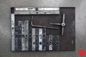 Assorted High Speed Quoins - Qty 16 - 052419023951