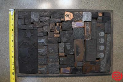 Assorted Letterpress Ornaments - 052419012552