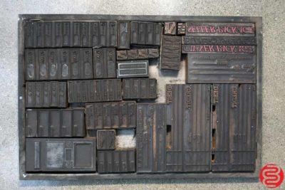 Assorted Letterpress Ornaments - 052419125752