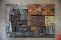 Assorted Letterpress Ornaments - 053019010718