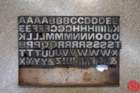 Assorted Letterpress Wood Type - Full Set Capitals - 052919030052
