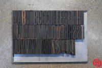Assorted Letterpress Wood Type - 052919035239