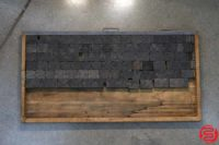 Assorted Letterpress Wood Type - Full Set Capitals - 052919035300