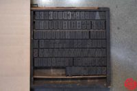 Assorted Letterpress Wood Type - Full Set Capitals - 052919051758