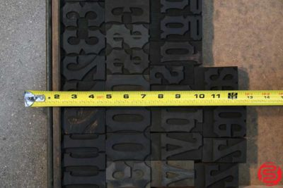 Assorted Letterpress Wood Type - 052919111058