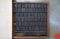 Assorted Letterpress Wood Type - 053019073850