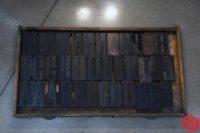 Assorted Letterpress Wood Type - Full Set Capitals - 053019084014