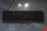 Assorted Letterpress Wood Type - Full Set Capitals Full Set Lowercase - 053019091545