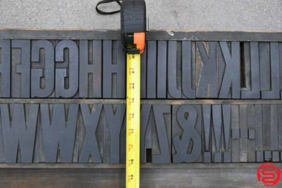Assorted Letterpress Wood Type - 053019091549