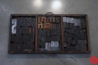 Assorted Letterpress Wood Type - 053019091553