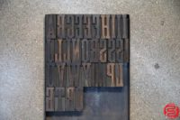 Assorted Letterpress Wood Type - 053019120317