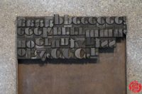 Assorted Letterpress Wood Type - 053019120327