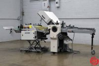 Baum 2020 Paper Folder 8 Page Unit w/ DESTA BAS-SA 700 Smasher / Stacker - 050919113742