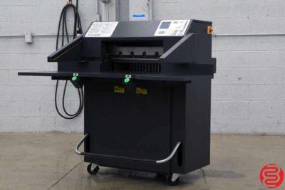 "Challenge Titan 230 Hydraulic Programmable 23"" Paper Cutter - 051119110429"