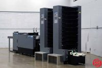 Duplo System 4000 20 Bin Booklet Making System w/ Stitcher, Folder, and Trimmer - 052019030937