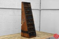 Hamilton Letterpress Furniture Cabinet - 053119085054