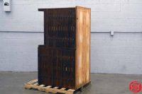 Hamilton Letterpress Type Cabinet - 052319082146