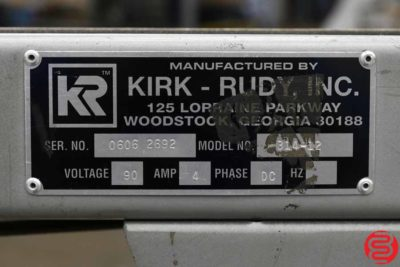 Kirk Rudy KR215 Variable Inkjet Addressing System - 052019052700