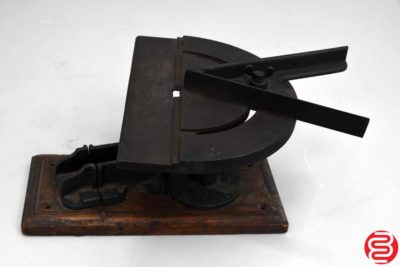 Letterpress Slug Cutter - 053119080522