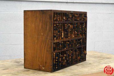 Letterpress Wood Furniture Cabinet - 052819091848