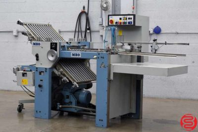 MBO T49 Pile Feed Paper Folder w/ Mobile Delivery - 051019025006