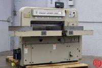 Polar Mohr 90 CE Programmable Paper Cutter w/ MicroCut Jr - 050219103631