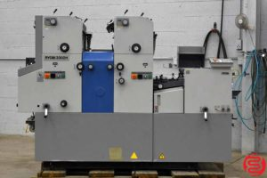 Ryobi 3302H Two Color Offset Printing Press - 050219052941