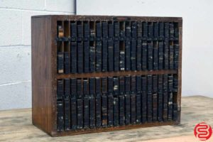 Thompson Letterpress Furniture Cabinet - 053119093429