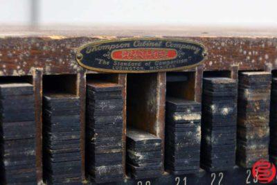 Thompson Letterpress Furniture Cabinet - 053119093429