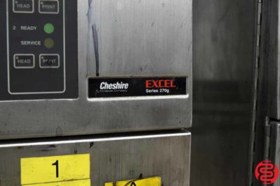 VideoJet Cheshire Excel Series 270G - Qty 3 - 051419103645