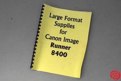 Canon imagePROGRAF W8400 Wide Format Printer - 060819083756