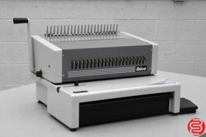 Ibico EPK-21 Electric Comb Punch w/ Foot Pedal - 061419013224