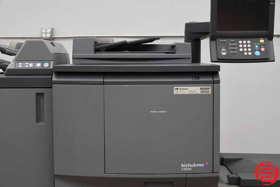 2007 Konica Minolta Bizhub Pro C6500 Color Digital Press - Boggs