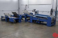 2013 MBO B30 Efficiency Buckle Folder Continuous Feed Paper Folder - 061319102034