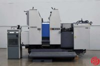 Ryobi 522HX Two Color Offset Printing Press - 061119045239