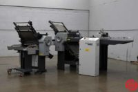 Stahl B20 Pile Feed Paper Folder w/ 8 Page Unit - 062019083840
