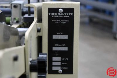 Therm-O-Type Quad 12 Business Card Slitter - 061319104206
