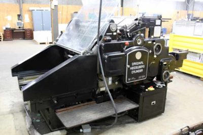 """Heidelberg PressWerx SBG 22"""" x 30 1/4"""" Cylinder Die Cutter"""